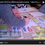 Un video: reflexionando sobre educación no formal 2.0